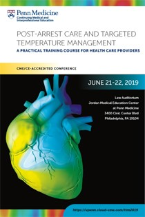 Post-arrest Care and Targeted Temperature Management: A Practical Training Course for Healthcare Providers Banner