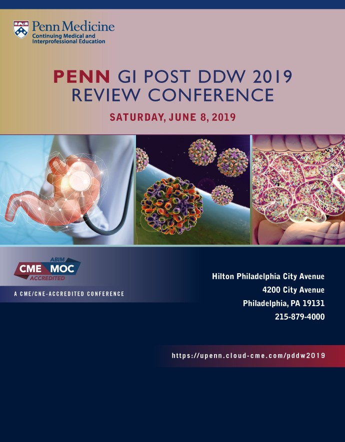 Penn GI Post DDW 2019 Review Conference Banner