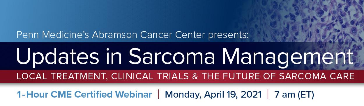 Updates in Sarcoma Management Banner