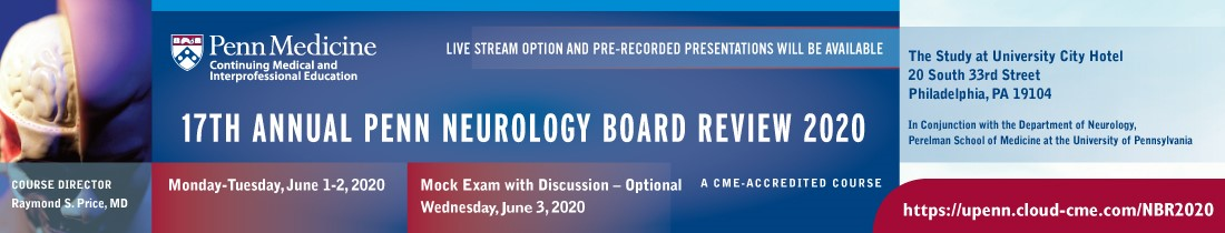 17th Annual Penn Neurology Board Review Course Banner