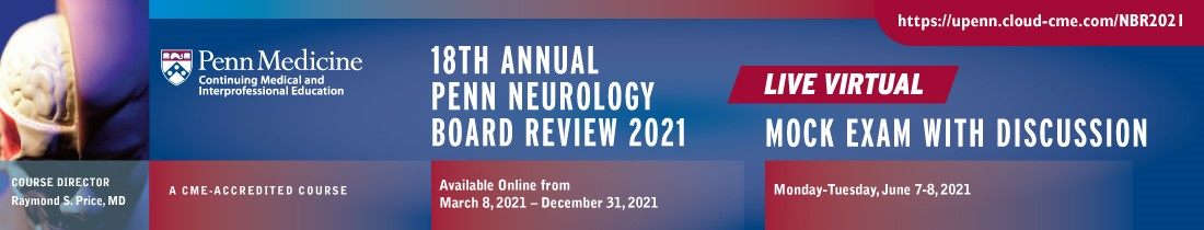 18th Annual Neurology Board Review Course Banner
