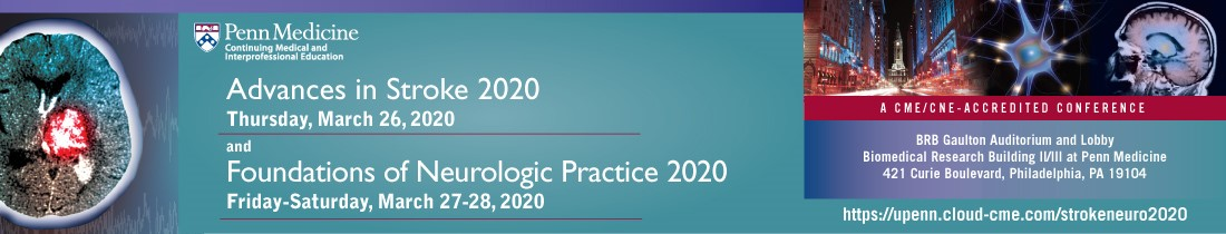Advances in Stroke 2020/Foundations of Neurologic Practice 2020 Banner